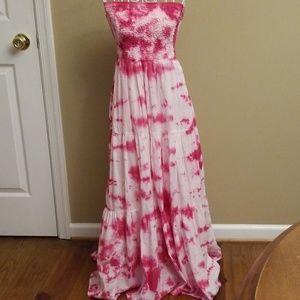 💕MK tie dyed maxi dress